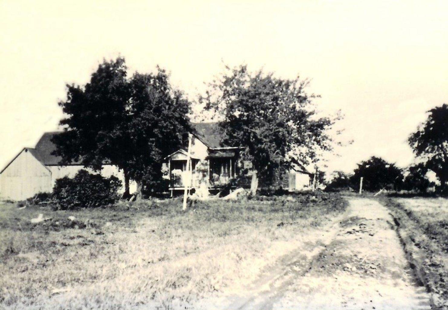 Ferme de Paul Boyer, chemin Boyer circa 1895